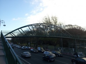 New Fairview Footbridge Nov 2012