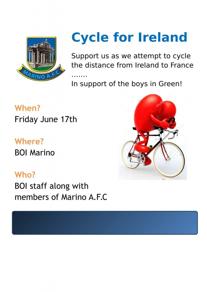 MARINO AFC cycle poster